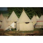 One Mast Tents