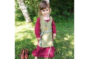 Mittelalter Kleid & Schürze