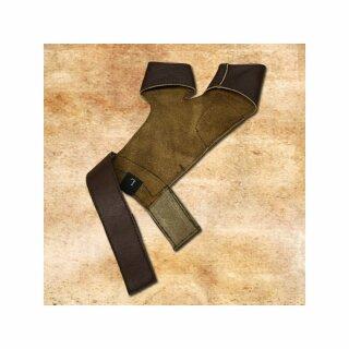Bogenhandschuh Y-Form, schwarz - XL, rechtshändig