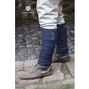 Wool Leg Wraps Aki - blue