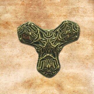 Small Cloverleaf Fibula 8, bronze