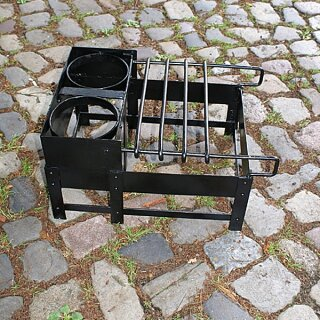 Craticula, römisches Kochgestell, Stahl