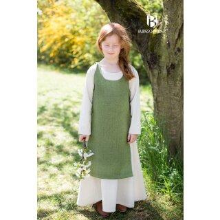 Children Dress Ylva, lime green