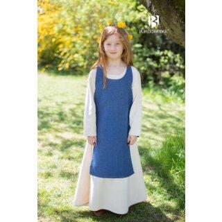 Children Dress Ylva, sea blue