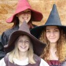 Woolen witches felt hat