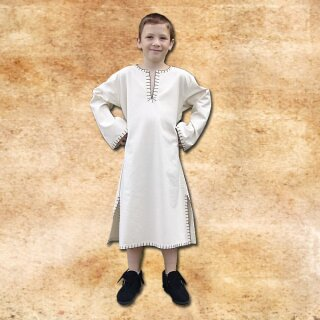 Kinder Tunika aus handgewebter Baumwolle