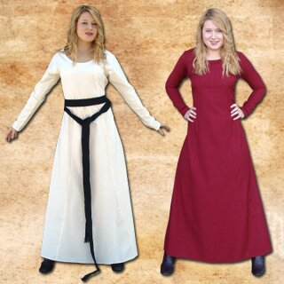 Simple Maids Dress Sibylle, made from Rayon XL maroon