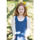 Kinderüberkleid Ylva, meerblau 128