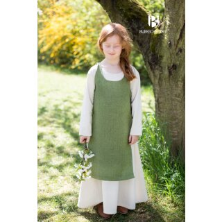 Kinderüberkleid Ylva, lindgrün 152