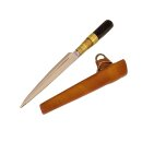Medieval cutting knife with sheath
