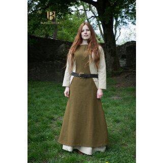 Surcoat Albrun - herbstgrün XXXL