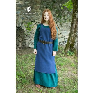 Wikingerkleid Frida - blau XL