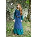 Viking Dress Frida - blue XXXL