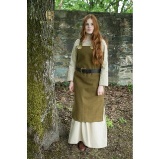 Viking Dress Jordis - autumn green XL