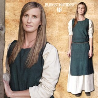 Cotton Dress Birka - green S