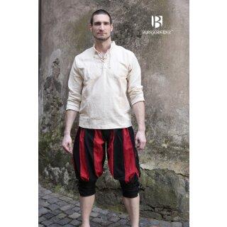 Lansquenet Pants Maximilian - black-red XL