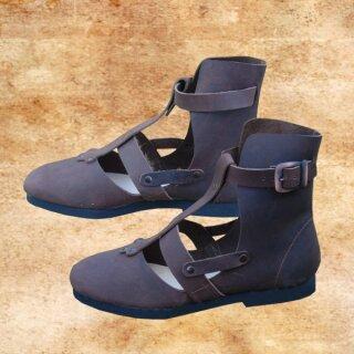 Alemanni Shoes, 43, brown