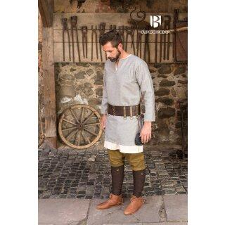 Woolen Tunic Lodin, grey