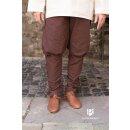 Trousers Wigbold, brown XL