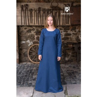 Unterkleid Freya - waidblau S