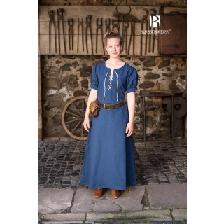 Woman's Dress Gretl, woadblue