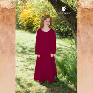 Kinderunterkleid Ylvi, bordeaux 128
