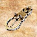Schnalle Gotland für 2 cm Gürtel silber