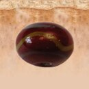 Red & Yellow Glass Trail Bead