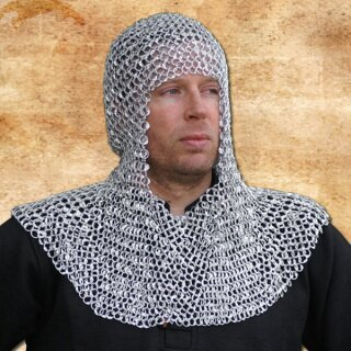 Chain Coif made from Aluminium