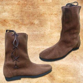 Boots, Velours, Rubber Soles