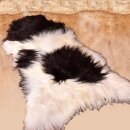 Nordic Sheepskin, black & white, approx. 110 cm
