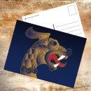 Postkarte Thors Schmiede