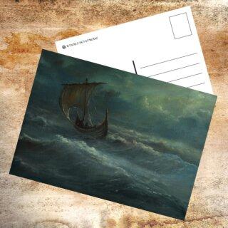 Postkarte Wilde See