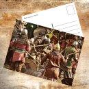 Postkarte Schlacht
