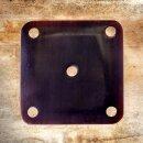 Webbrettchen aus Horn - 4,5 cm