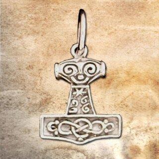 Anhänger Thors Hammer 25