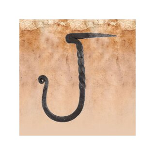 Wallhook, Handforged, with nail-end