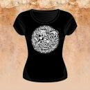 Girlie-Shirt Löwe und Schlange