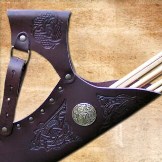 Celtic Hunting Quiver, adjustable