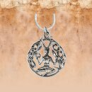 Pendant of the Celtic god of animals and forest - silver