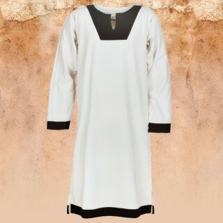 Medieval Tunic Vallentin, natural/brown L