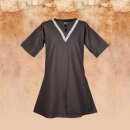 Medieval Braided Tunic Ailrik , short-sleeved