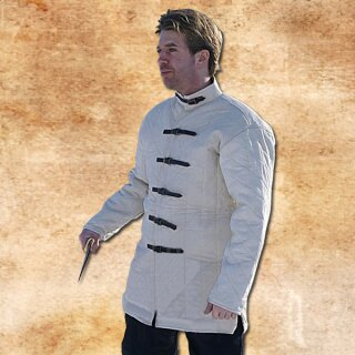 Gambeson 2 with buckles, natural, size S
