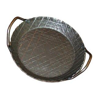 Wrought-Iron Pan with handles, big