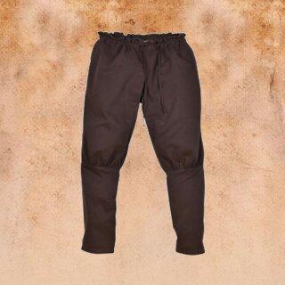 Viking pants / Rush pants Olaf, brown XXL