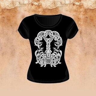 Girlie-Shirt Odin und die Runen M