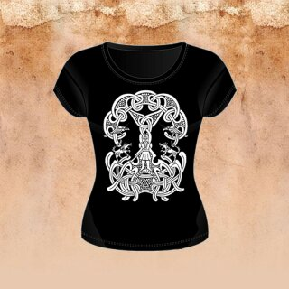 Girlie-Shirt Odin and the Runes XL