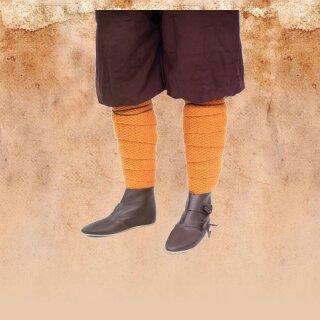 Woll-Strick Wadenwickel Askil - Orange