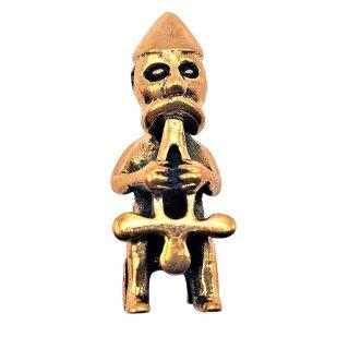 Wikinger Schmuck Anhänger THOR Auf seinem Thron Bronze