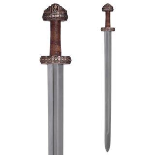 Wikingerschwert (Insel Eigg) mit Ledergriff